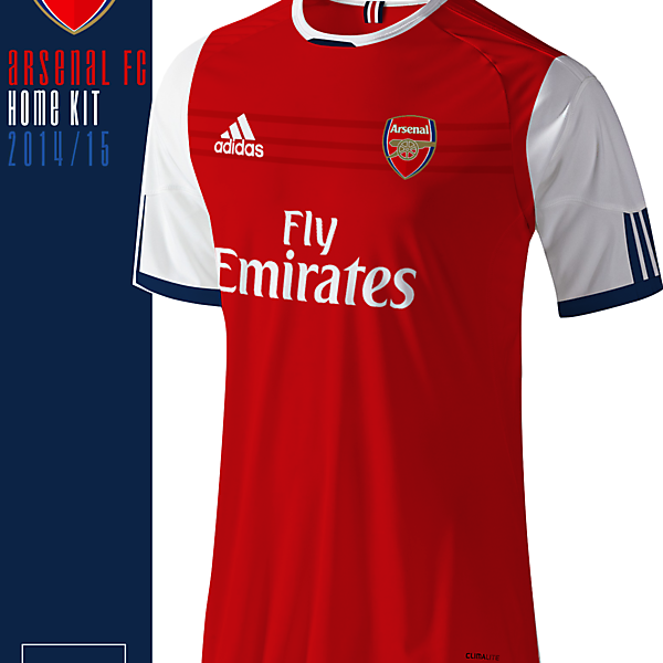 Arsenal Adidas Home Kit