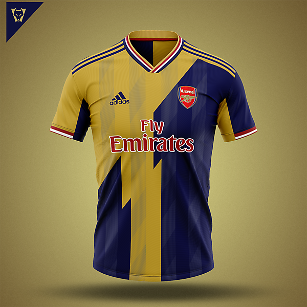 Arsenal away design v2