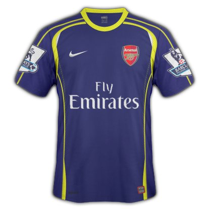 Arsenal Away Kit