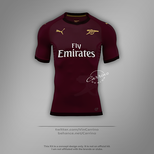 Arsenal FC Special Home Jersey | Concept Design
