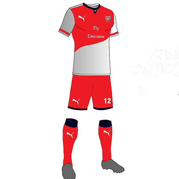 Arsenal kit 16/17