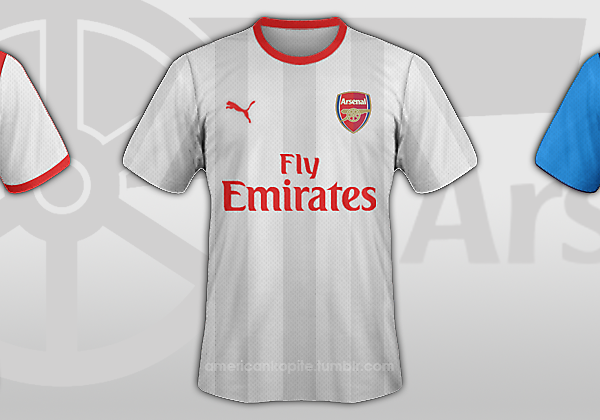 Arsenal Concept Puma Shirts