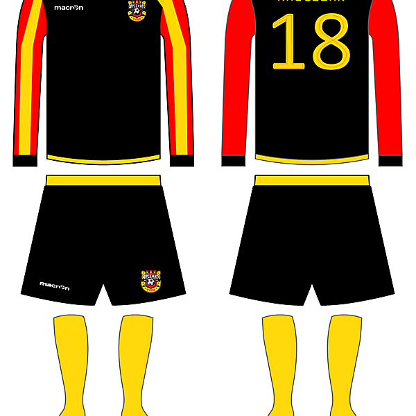 Arsenal Tula Away kit Fantasy