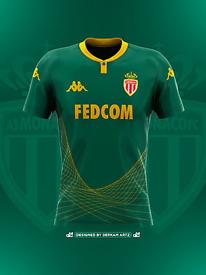 AS Monaco - Away Kit (2019/20)