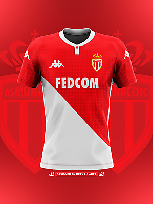 AS Monaco - Home Kit (2019/20)