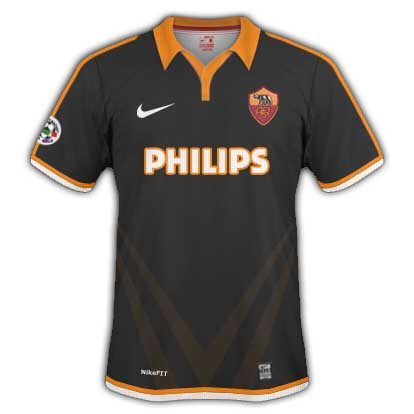 AS Roma Away Shirt 2010/11