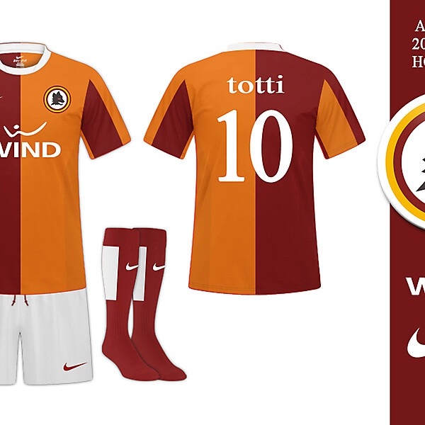AS Roma 2014/2015 Home Kit