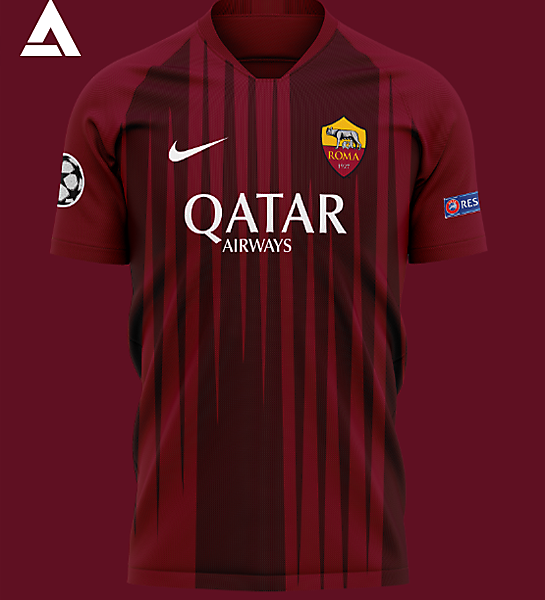 AS Roma 2021 Home Kit