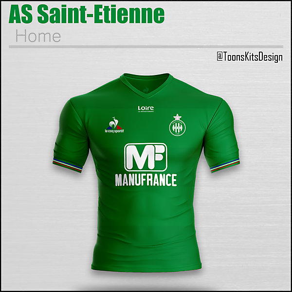 AS Saint-Etienne Home