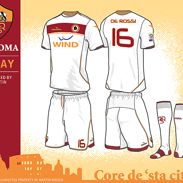 AS Roma Fantasy Kits