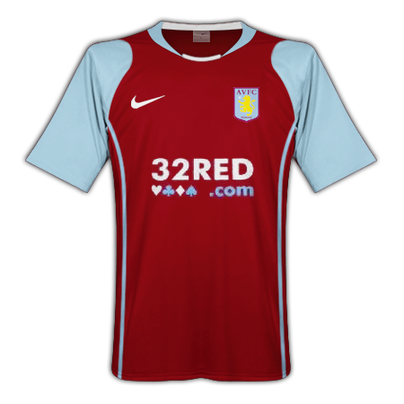 Aston Villa Home Kit 2