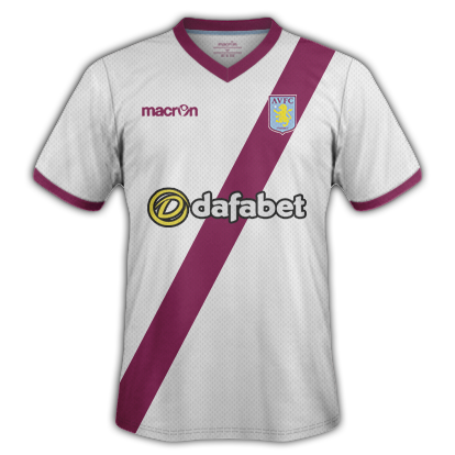 Aston Villa Away Kit 15/16