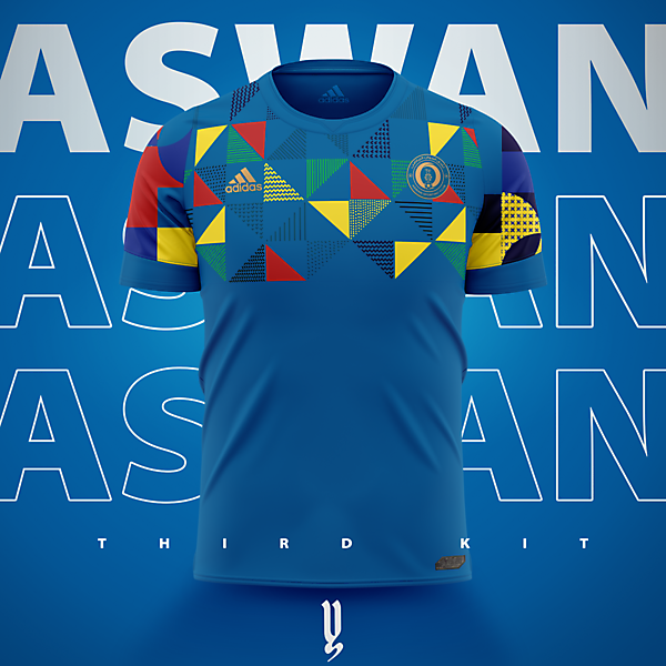 Aswan SC Third Kit