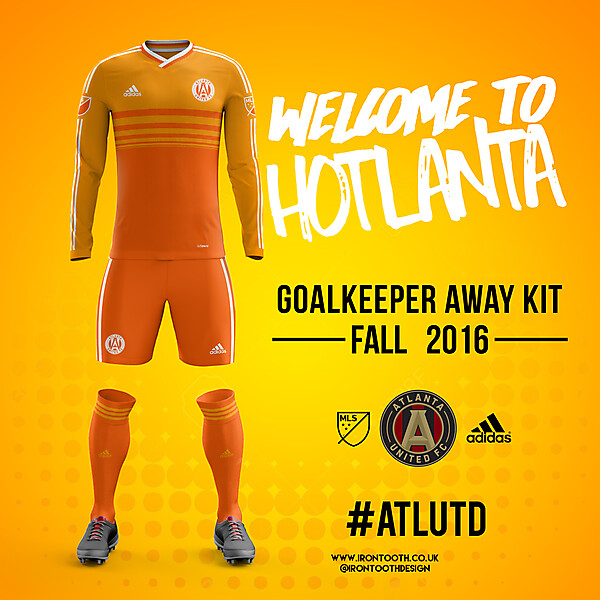 Atlanta United 2017 Goalkeeper Away Kit