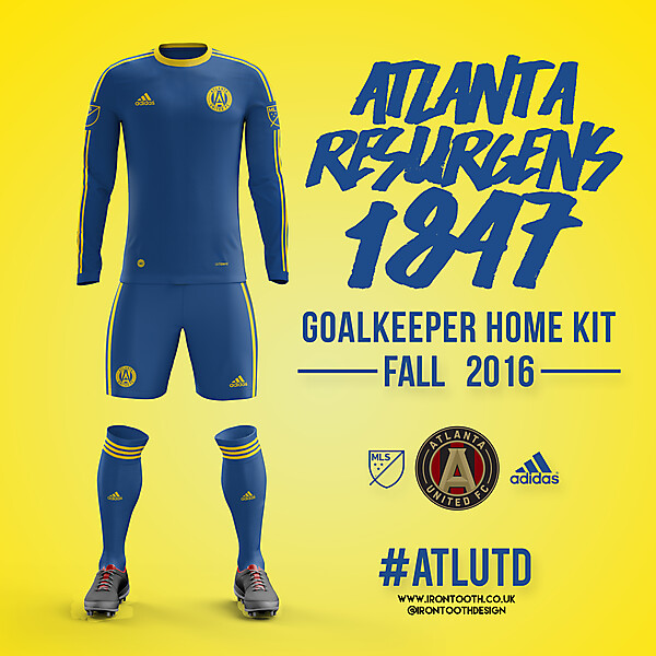 Atlanta United 2017 Goalkeeper Home Kit
