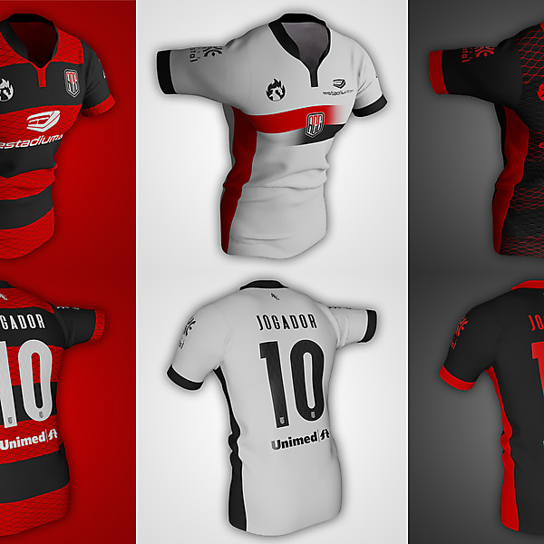 Atlético Goianiense | Home, Away and Third Shirts