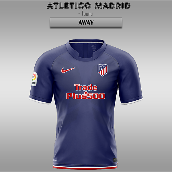 Atletico Madrid -- Home/Away/Third