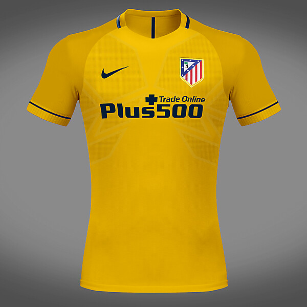Atletico Madrid 17/18 Away Kit Concept