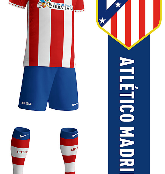 Atlético Madrid 2014-2015 Home