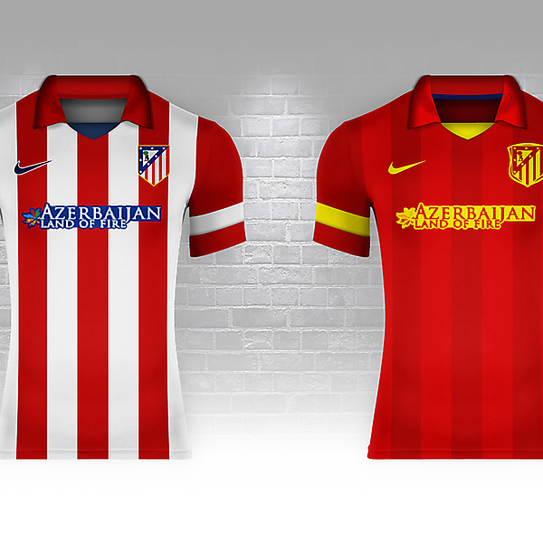 Atlético Madrid as Spain (Fantasy Nike World Cup Campaign)