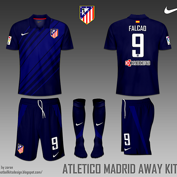Atletico Madrid fantasy home and away
