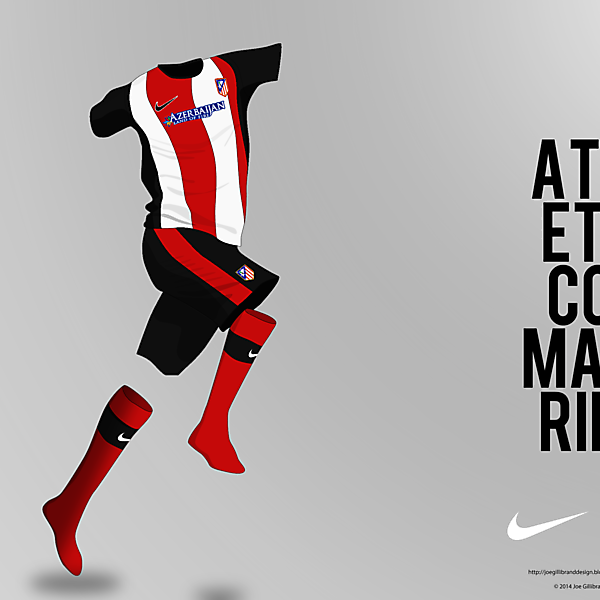 Atletico Madrid Home Concept