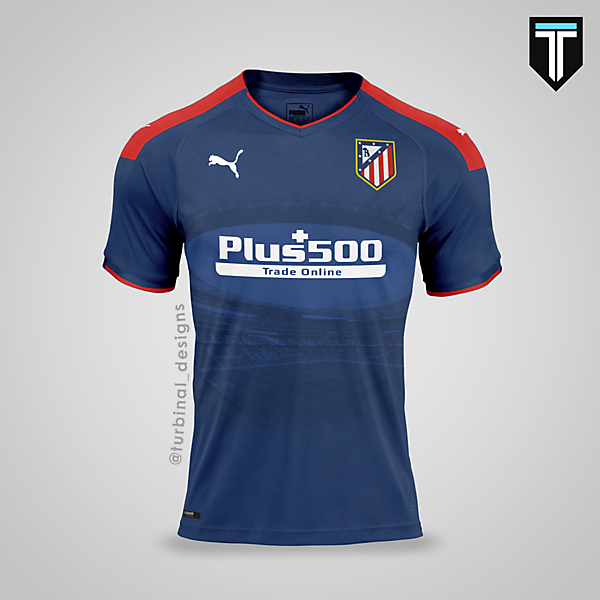 Atletico Madrid x Puma - Away Kit