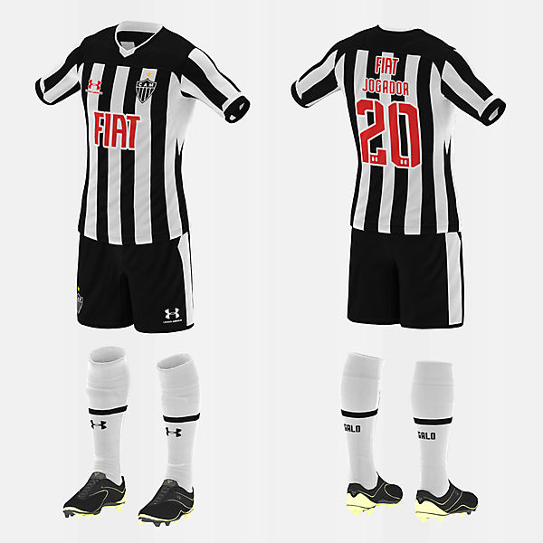Atlético/MG (Home/Under Armour) (#fbr1920)
