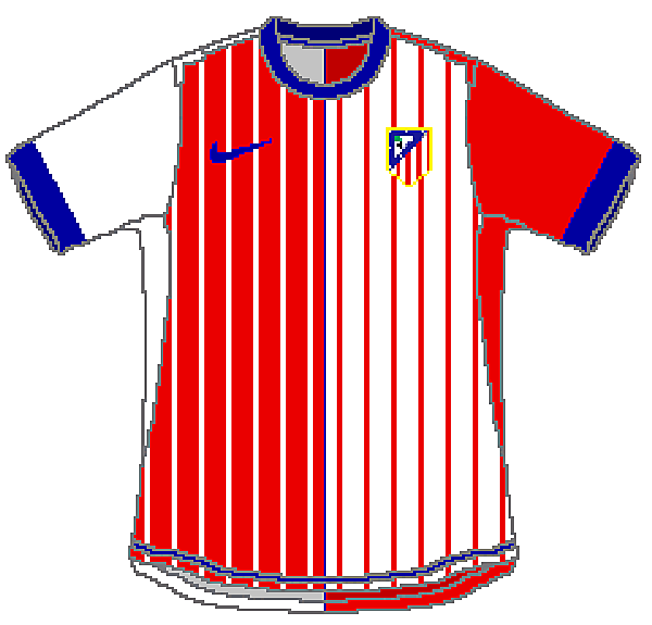 Atletico de Madrid Nike Home