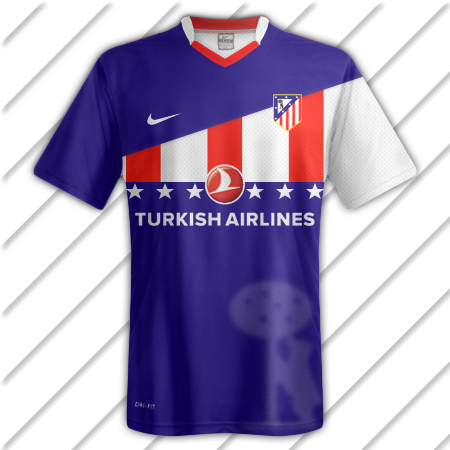 Athletico Madrid Away