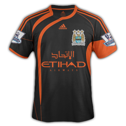 Man. City Fantasy Adidas Away Shirt