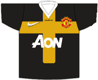 Man United 2012/13 Away Shirt