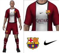 Barcelona 2014/15 Away Kit