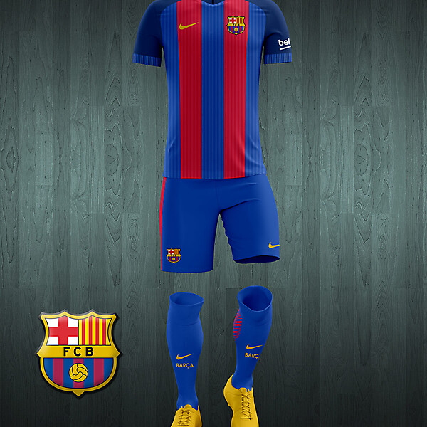Barcelona 2016-17 home kit