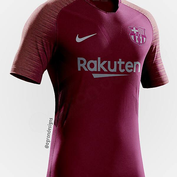 Barcelona 2018-19 Third Kit Prediction