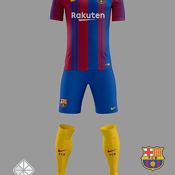 Barcelona 2018/2019 Home Kit