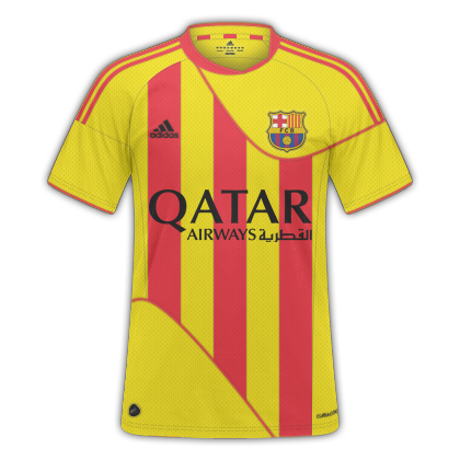 Barcelona Away Fantasy Kit