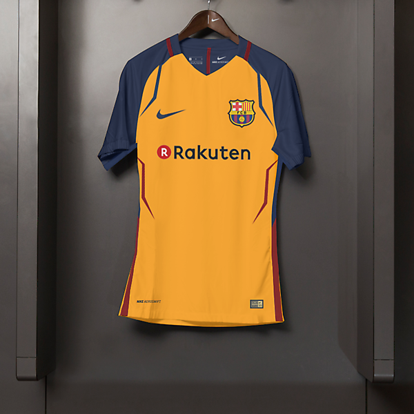 Barcelona Away Kit Nike