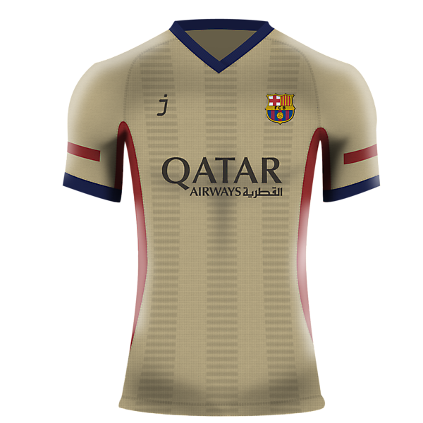 Barcelona Away shirt by J-sports