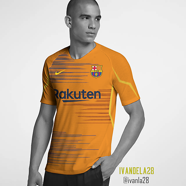 Barcelona Global Third Kit Nike