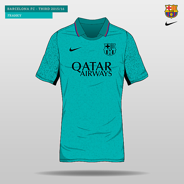 Barcelona Third Kit 2015/16