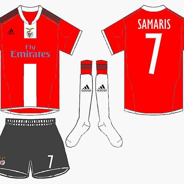 Benfica Home kit Fantasy