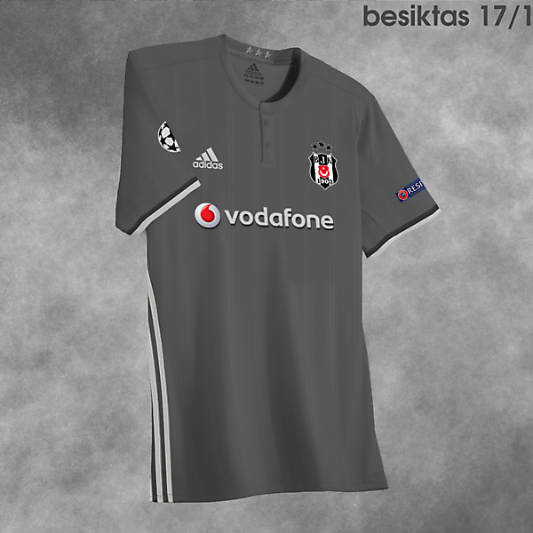 Besiktas CL Kit 17/18