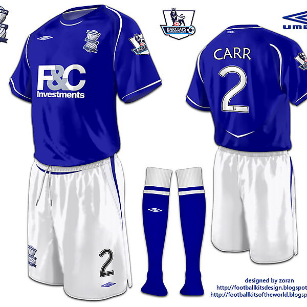 Birmingham City fantasy home