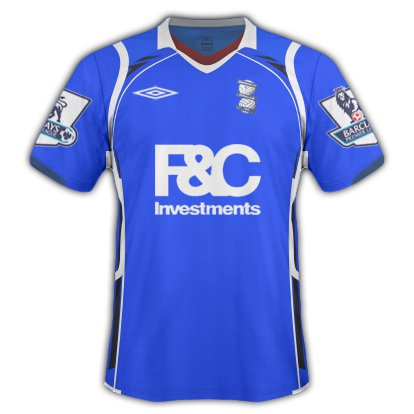 Birmingham City Home Kit