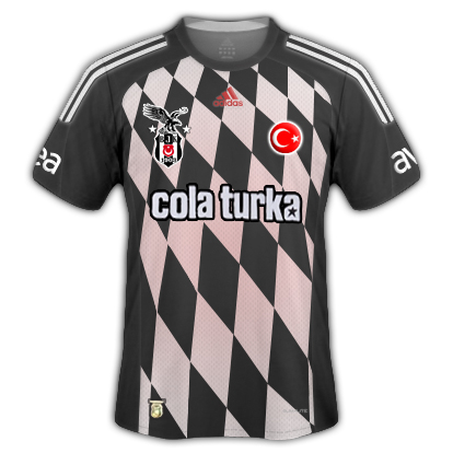 Besiktas Third and Away