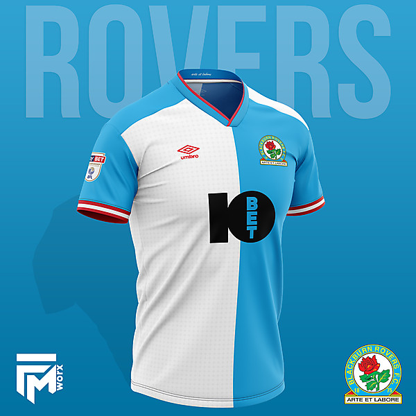 Blackburn Rovers 2020/21 Home Shirt Concept