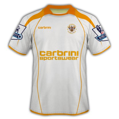 Blackpool Away kit