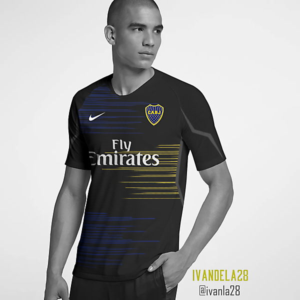 Boca Jrs Global Third Kit Nike