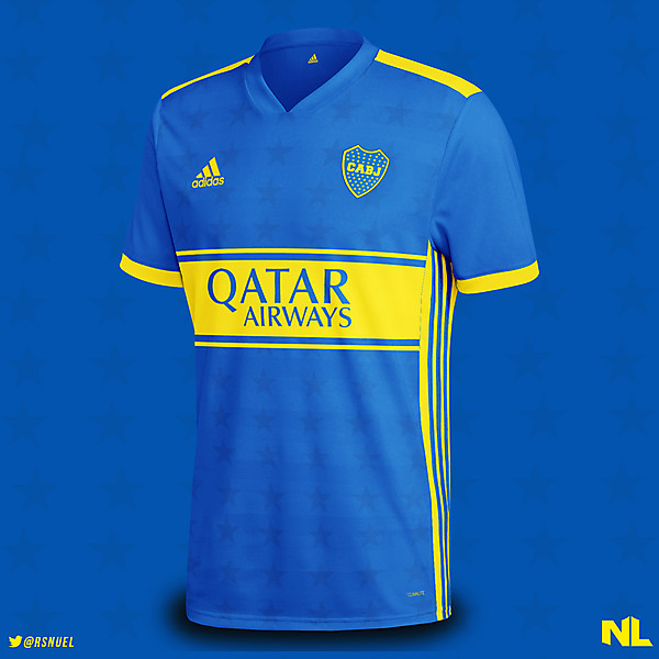 Boca Juniors - Home Kit Concept